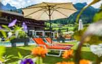 Garten Happy Stubai Hotel Hostel Neustift Stubaital