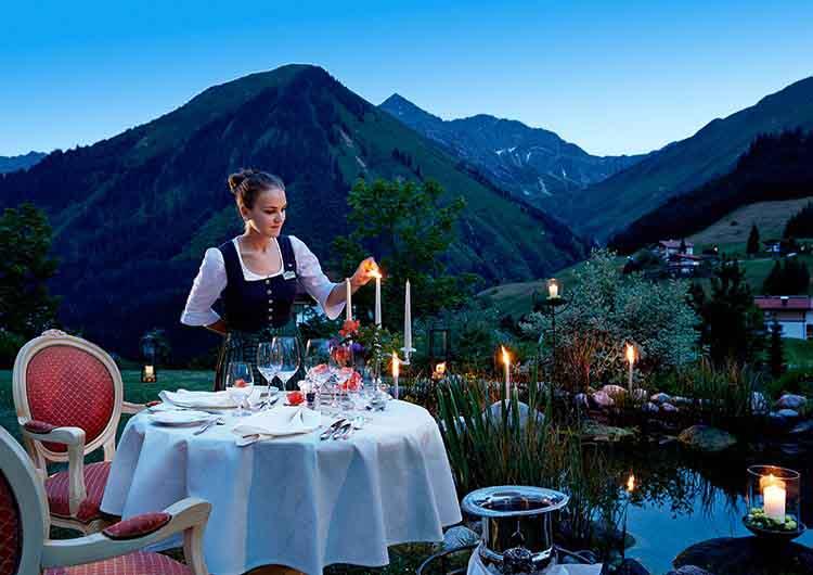 Culinary Delights Singer Sporthotel & SPA Berwang Tyrol Austria