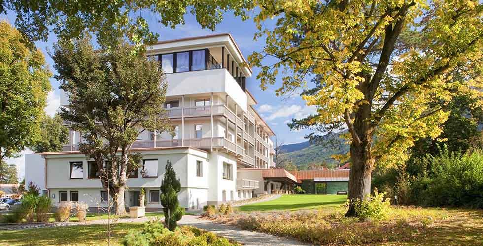 Migraines Park Igls Innsbruck Austria Moderne Mayr Medizin