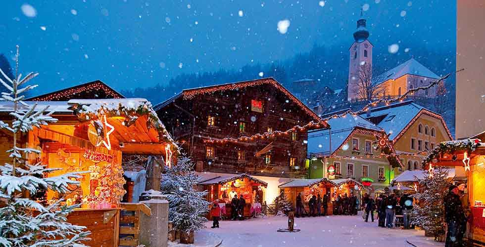 Christmas In Austria.Authentic Austrian Advent And Christmas With Nice Destinations