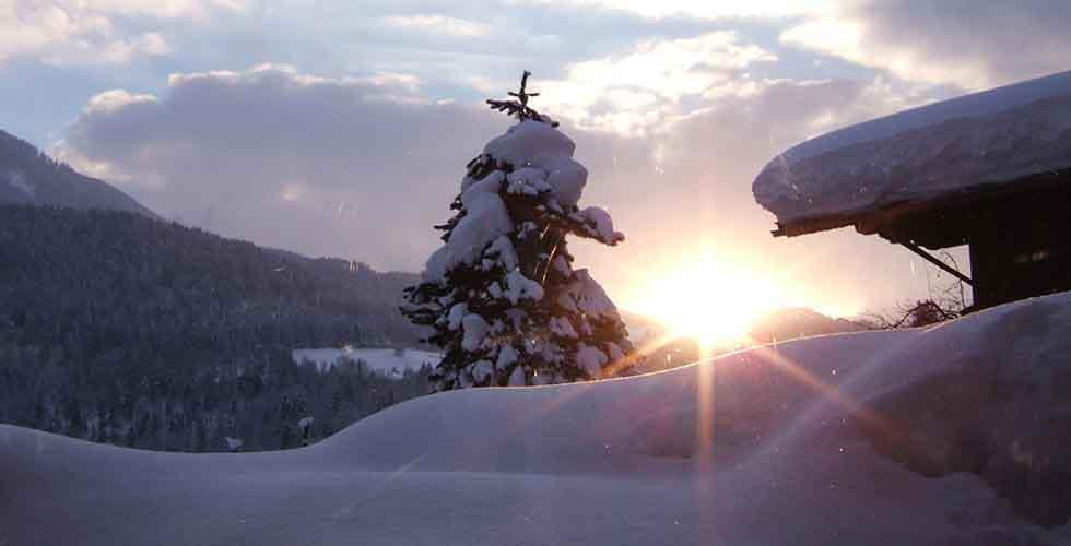 Health Resorts Ayurveda Resort Sonnhof Tyrol Austria Winter