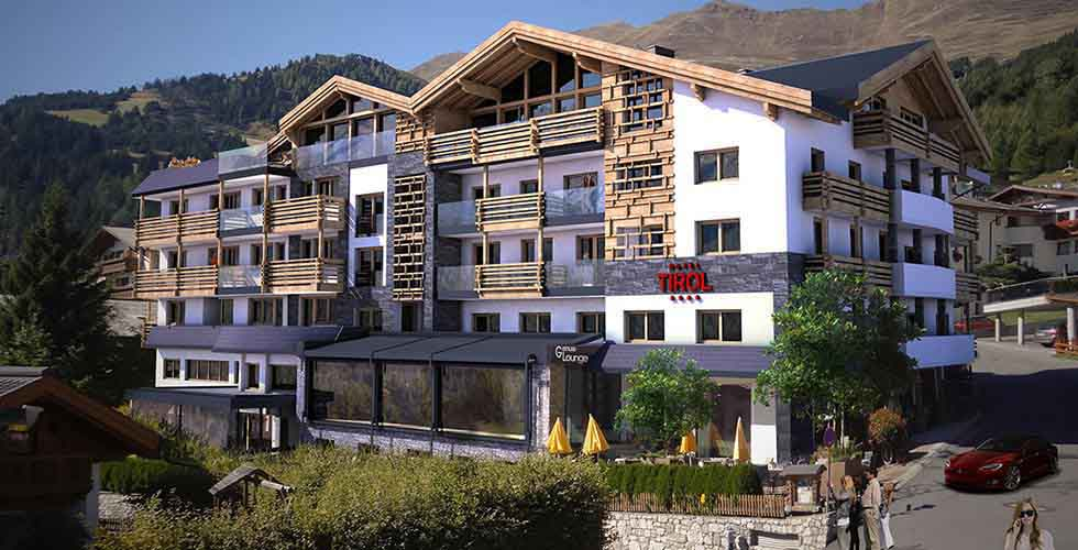 Hotel Tirol Fiss Opening Austia Lifestyle Hotel Fiss