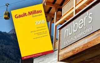 Hubers Boutiquehotel Mayrhofen Zillertal Tirol Austria Gault&Millau
