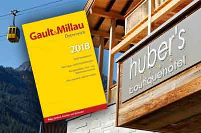 Gault millau haube f r huber s a la carte restaurant in for Boutique hotel tirol