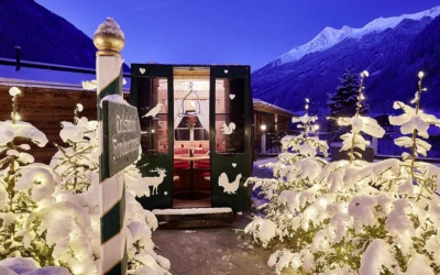 Winter holiday in November at 5-star Relais & Châteaux SPA-HOTEL Jagdhof in Stubai Valley, Tyrol, Austria - niche destinations
