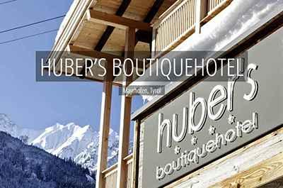 HUBERS Boutiquehotel Mayrhofen Zillertal Tyrol Austria Niche Destinations