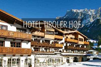 Hotel Tiroler Hof Ehrwald Zugspitzarena Tyrol Austria
