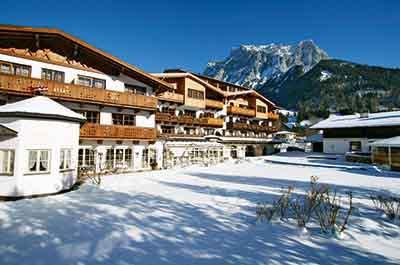 Hotel Tirolerhof Ehrwald village Zugspitzarena Tyrol Austria - Niche Destinations