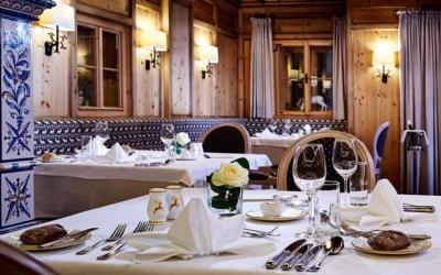 New Year ski deal - Niche Destinations 4-star-superior hotel GROSSARLER HOF restaurant winter details
