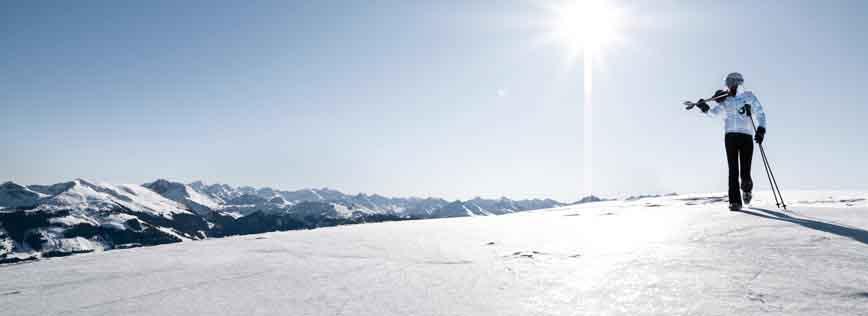 Skiing in Kitzbuehel Tyrol