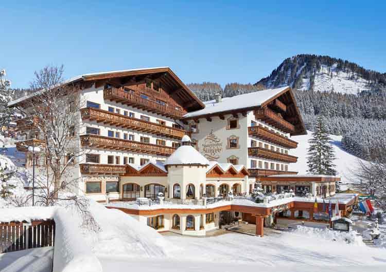 Singer Sporthotel SPA 4 Star Berwang Tyrol Skiing Holidays Niche Destinations