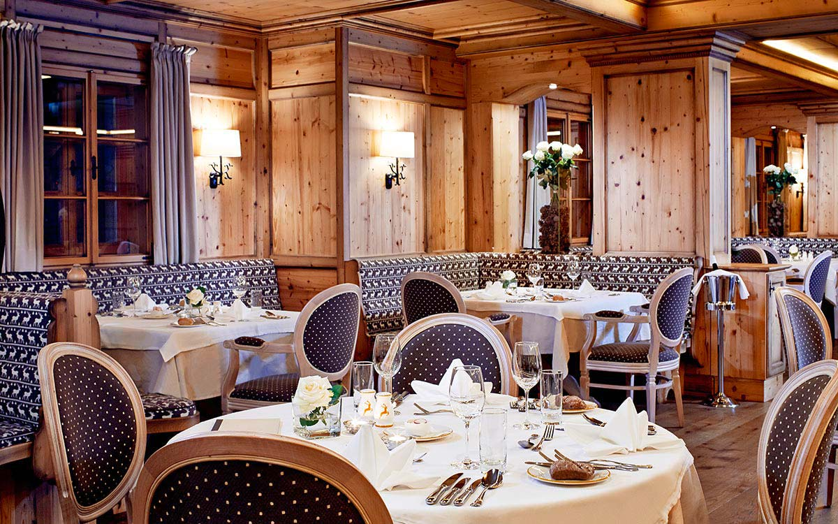 Ski touring holiday - Niche Destinations 4-star-superior hotel GROSSARLER HOF restaurant