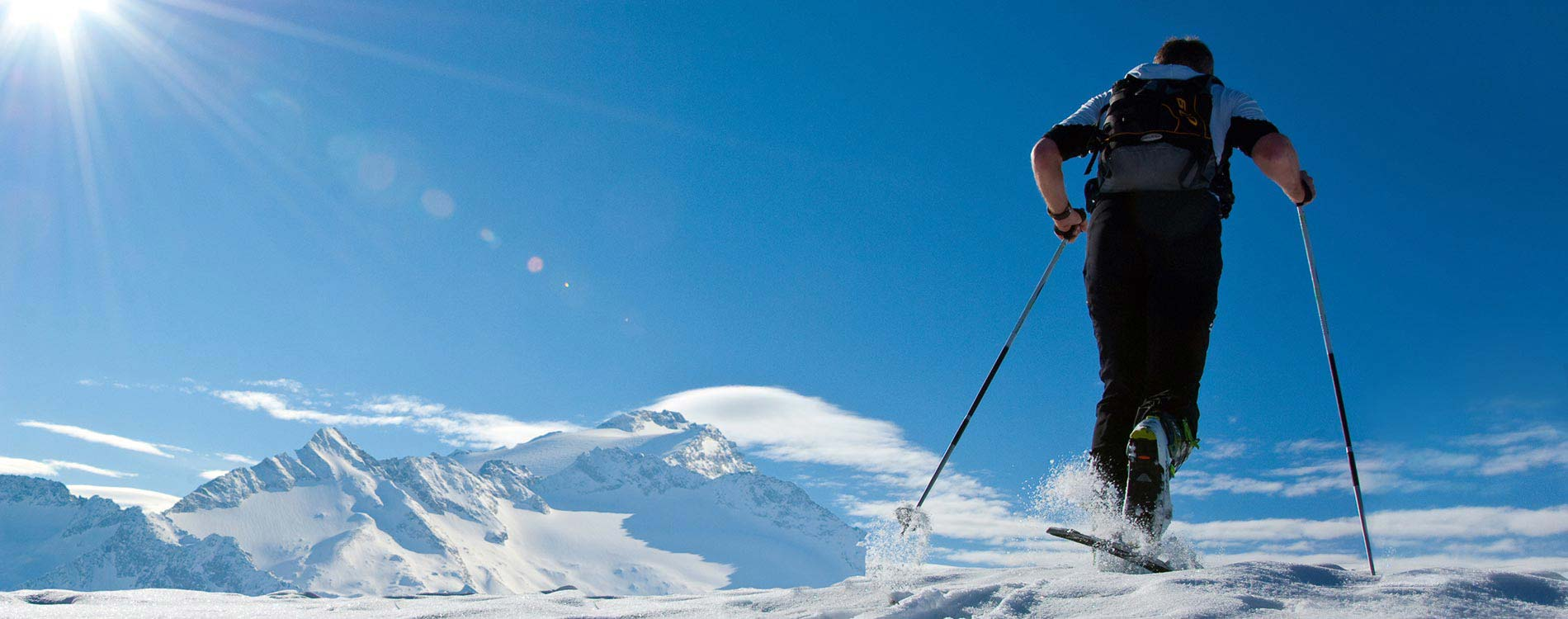 Ski touring holiday - Niche Destinations 4-star-superior hotel GROSSARLER HOF ski touring sunshine