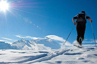 Ski touring holiday - Niche Destinations 4-star-superior hotel GROSSARLER HOF ski touring