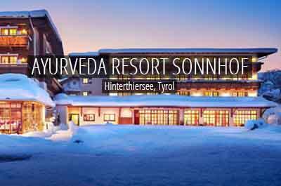 niche destinations European Ayurveda Resort Sonnhof Ayurveda Thiersee Valley Tyrol Austria Panchakarma