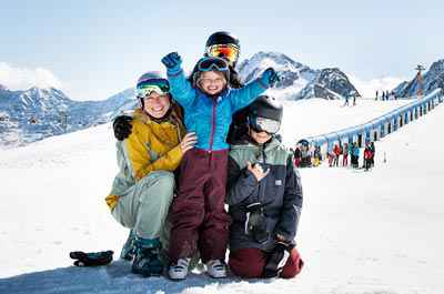 Family skiing holiday in Tyrol at 5-star Relais & Châteaux SPA-HOTEL Jagdhof in Stubai Valley, Tyrol, Austria - niche destinations