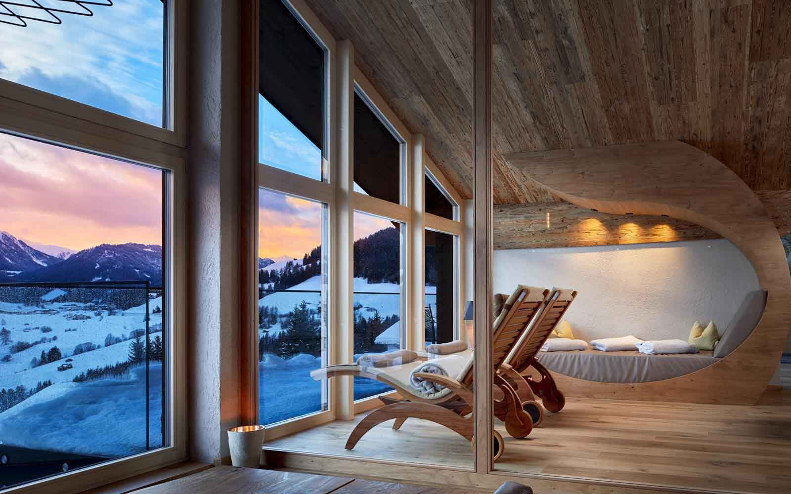 Hotel Tirol Fiss Serfaus-Ladis-Fiss Tyrol Austria Lifestyle-Hotel Winter Holidays Skiing New fourth floor Gipfel SPA