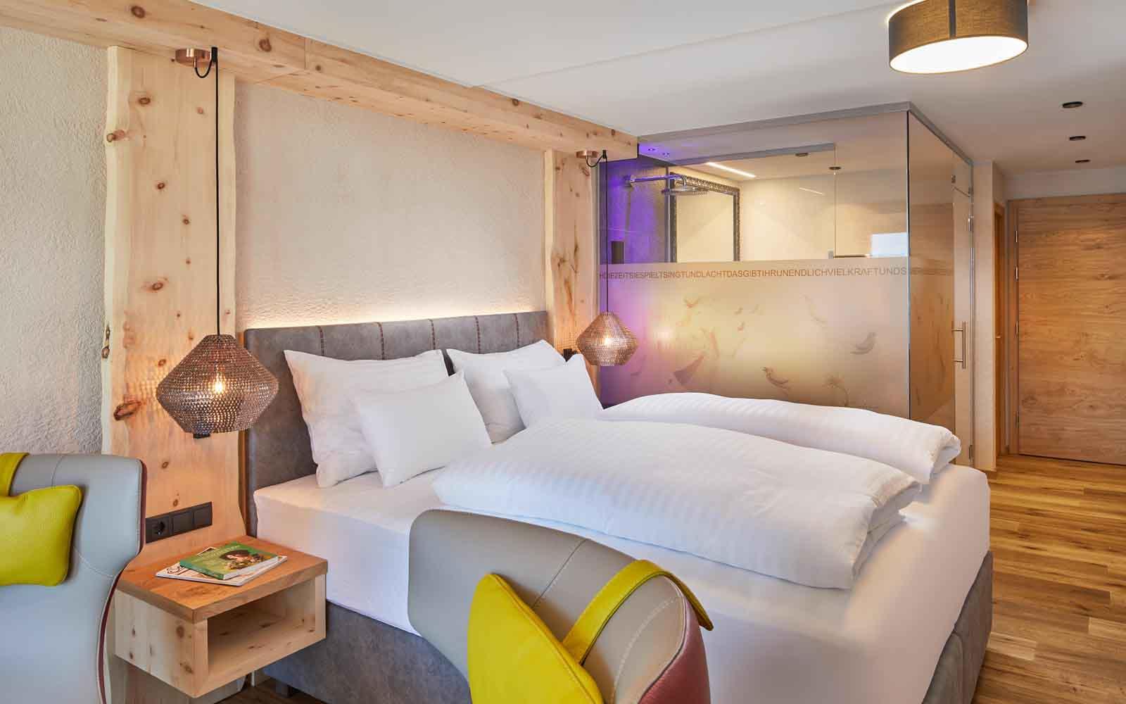 niche destinations Hotel Tirol Fiss Ladis-Fiss-Serfaus Tirol Austria Lifestyle-Hotel 22 new modern-Alpine styled rooms