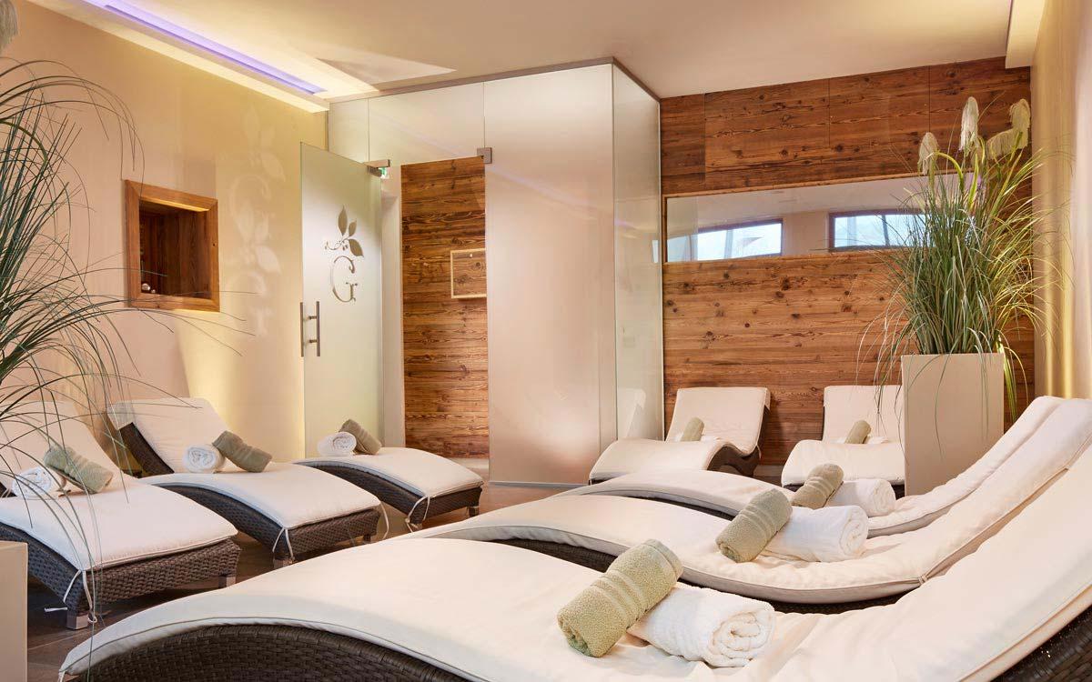 Spa break - Niche Destinations 4-star-superior hotel GROSSARLER HOF relax area