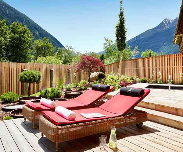 Alpine SPA break at 5-star Relais & Châteaux SPA-HOTEL Jagdhof in Neustift in Tyrol, Austria