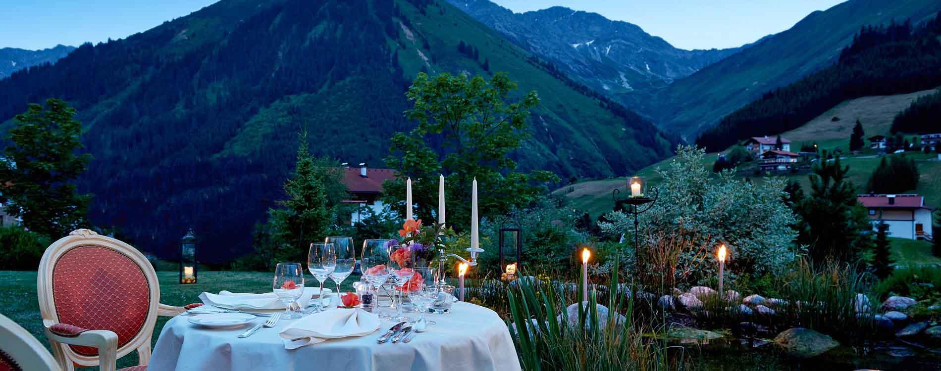 romantic summer nights� dream in berwang in tyrol