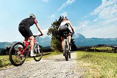 Biking package 4 nights Austria Kirchberg Tyrol Rosengarten Summer Sports