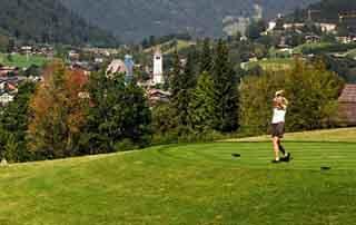 Golf Alpin & gourmet 4 days Austria Kirchberg Tyrol Rosengarten