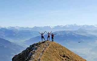 Hiking in the Kitzbühel Alps The Good Deal Hiking Week hotel Rosengarten Tyrol Austria