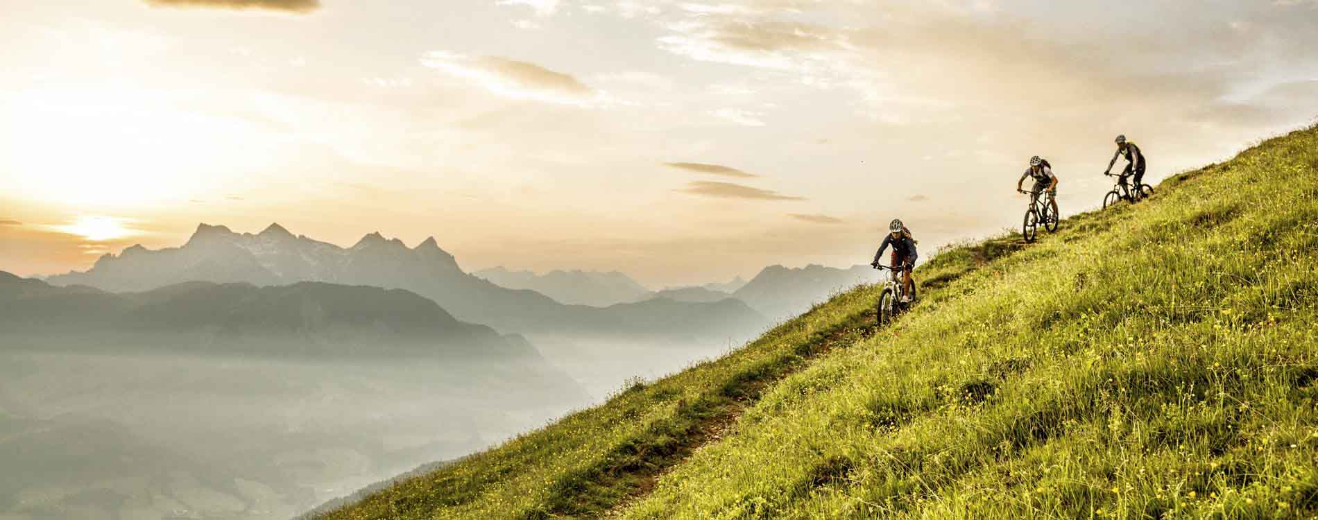 Biking package 7 nights Austria Kirchberg Tyrol Rosengarten Summer Sports