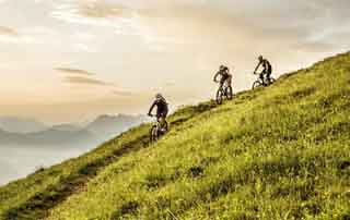 Biking package 7 nights Austria Kirchberg Tyrol Rosengarten Summer Sports