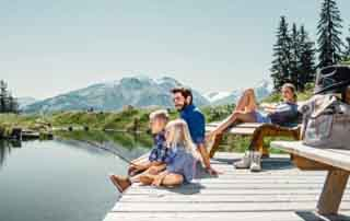 XXL family holiday in the SalzburgerLand Sporthotel Alpenblick Zell am See Austria