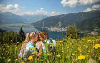 Romance in SalzburgerLand Romantic summer breaks at the Sporthotel Alpenblick Zell am See Austria