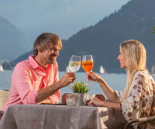 Romance in SalzburgerLand Romantic summer breaks at the Sporthotel Alpenblick Zell am See Austria