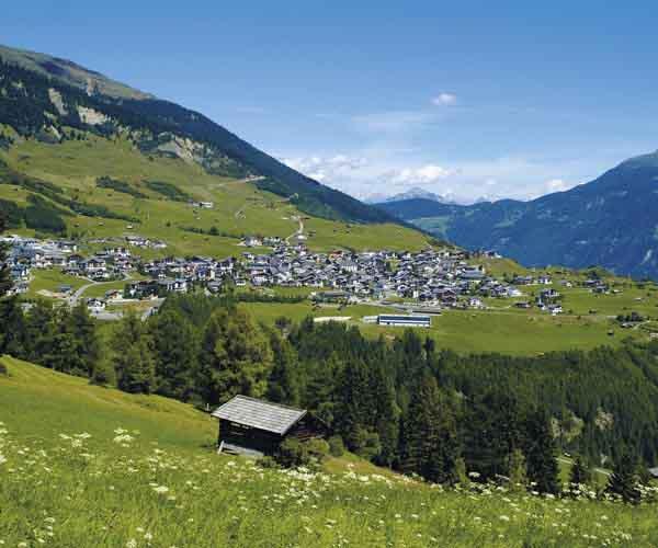 Hiking paradise at Hotel Tirol Fiss Lifestyle Hotel Serfaus Fiss Ladis Tyrol Austria