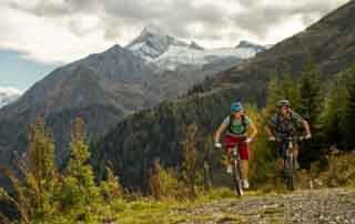 Cycling in the SalzburgerLand Mountain bike package Sporthotel Alpenblick Zell am See SalzburgerLand