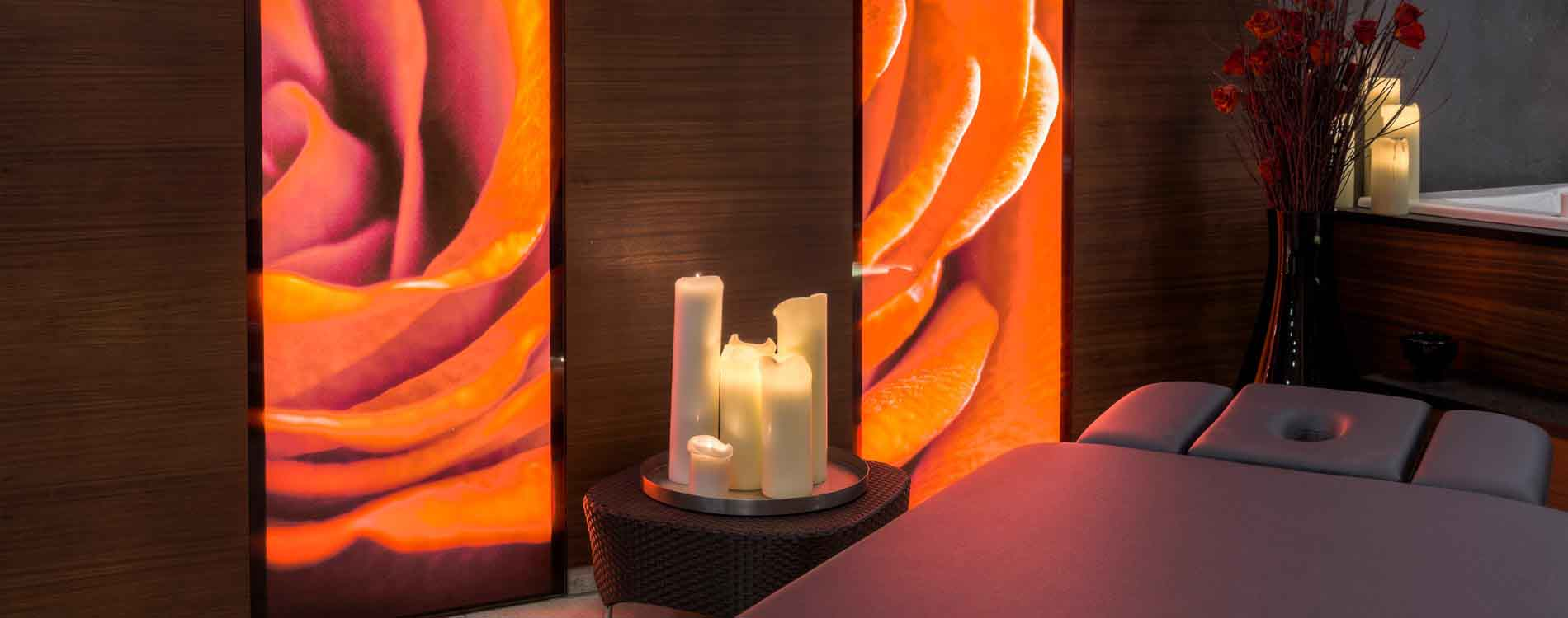spa à deux at the 5-star Relais & Châteaux Rosengarten Kirchberg Kitzbuehel