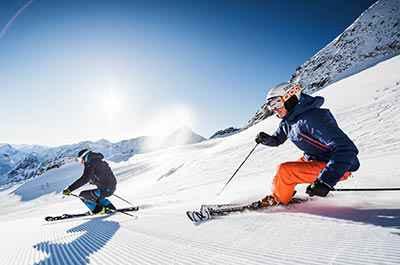 Stubai glacier skiing at 5-star Relais & Châteaux SPA-HOTEL Jagdhof in Stubai Valley, Tyrol, Austria - niche destinations