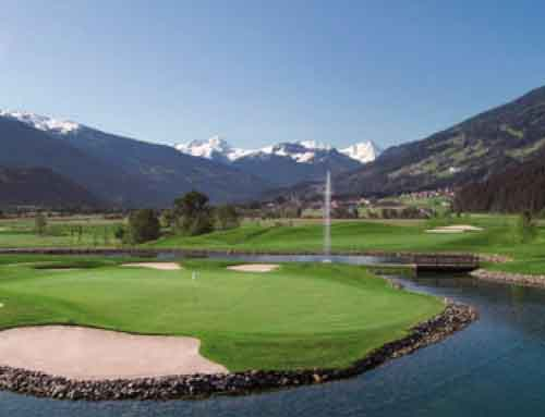 HUBER'S golf short break