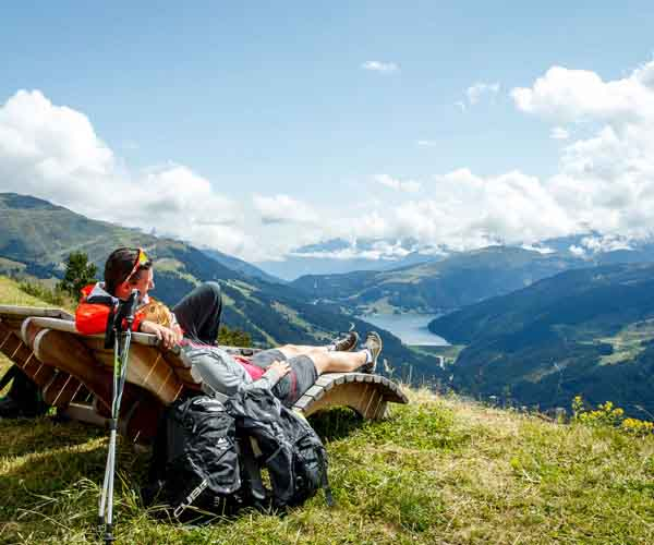 Hiking at HUBER'S @HUBERS-Boutiquehotel Mayrhofen Zillertal Alps Tyrol Austria
