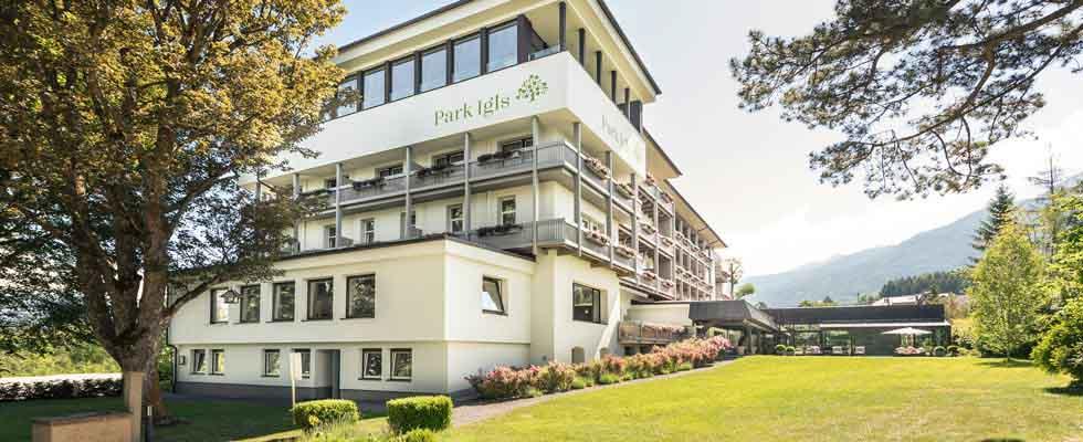 Trampoline training with bellicon® Park Igls Mayr clinic Innsbruck Tyrol Austria
