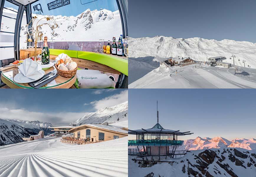 TOP Hochgurgl 5-star superior ski hotel TOP Hotel Hochgurgl ski resort Obergurgl Hochgurgl Tyrol Austria Niche Destinations