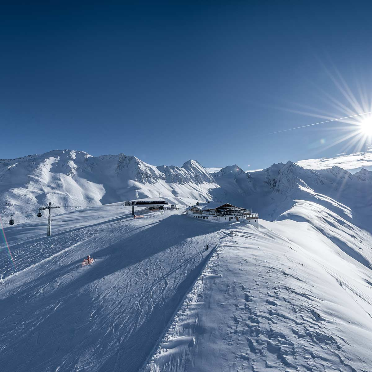 TOP quality skiing in the diamond of the Alps