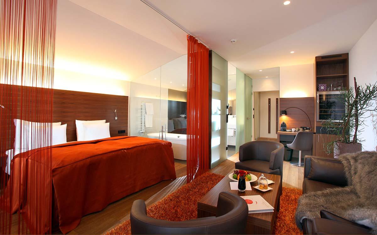 Advent experience 5-star gourmet Hotel Rosengarten Suite