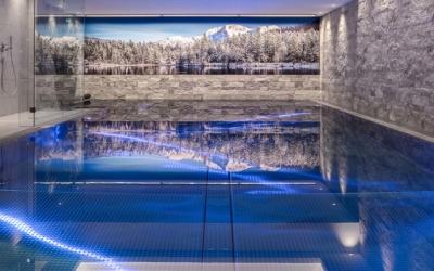 Christmas Getaway Hotel Rosenharten Kirchberg Tirol Swimmingpool