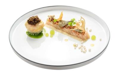 Gourmet kitchen Taster Days Restaurant Simon Taxacher Hotel Rosengarten Food