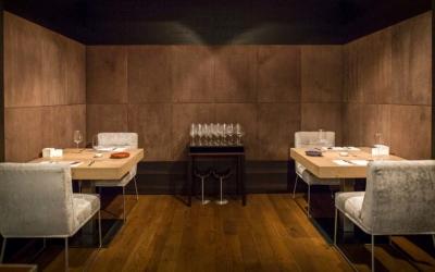 Gourmet kitchen Taster Days Restaurant Simon Taxacher Hotel Rosengarten Table for two