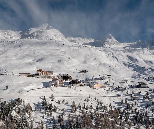 Hochgurgl Ötztal Tyrol Austria view