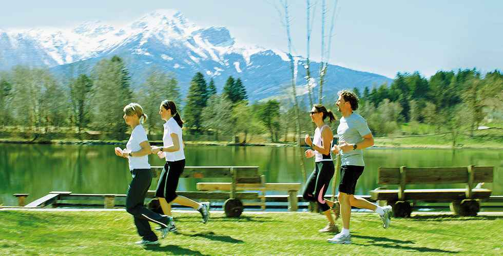 ParkZeit new guest magazine Park Igls Mayr clinic in Tyrol Austria - Detox on the Run