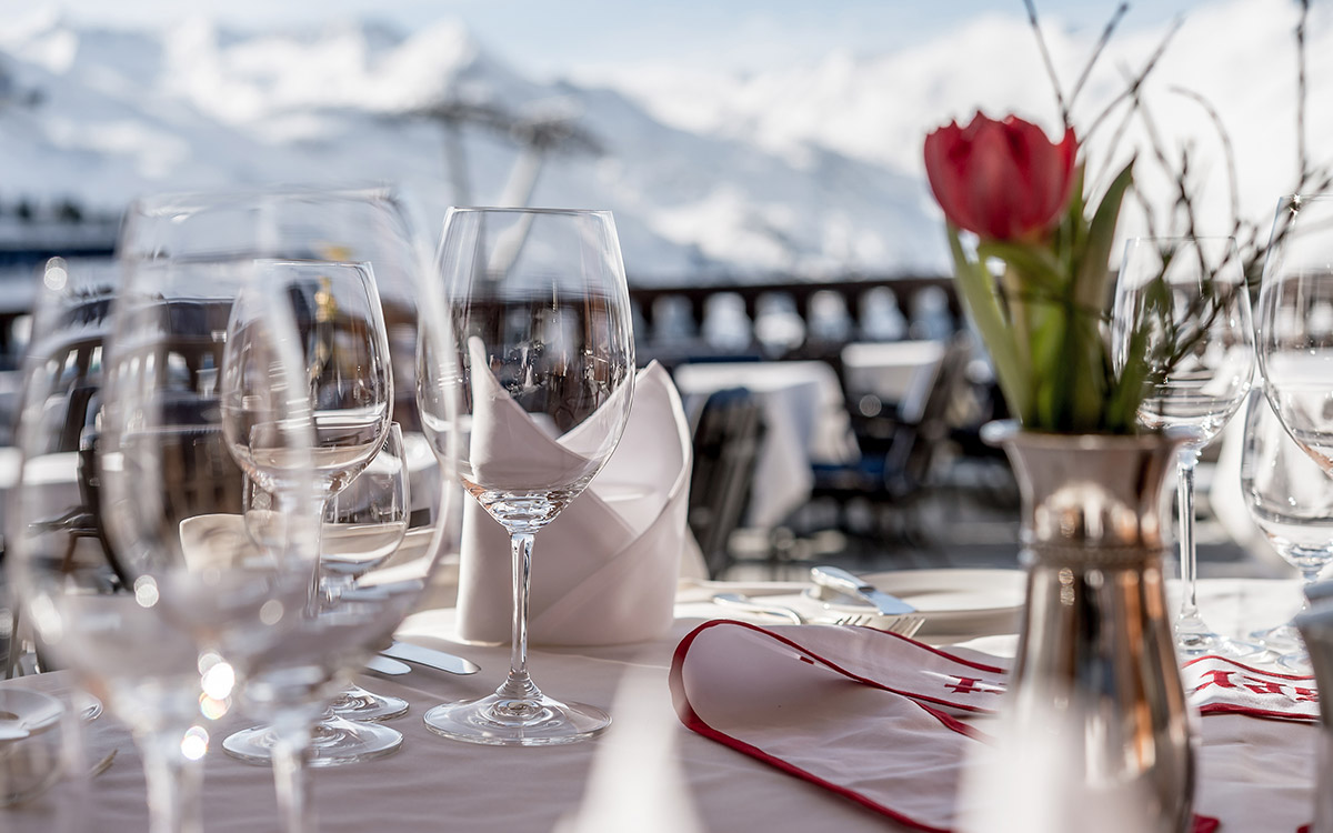 Relais Chateaux 5 star superior TOP Hotel Hochgurgl Ötztal Tyrol Austria cuisine