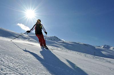 Ski resort Obergurgl Hochgurgl Ötztal Tyrol Austria Silver snow weeks